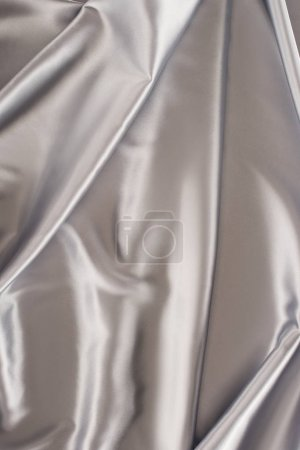 silver delicate satin fabric background