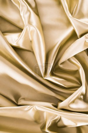 bronze shiny silk fabric background