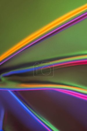 green and pink shiny silk fabric background