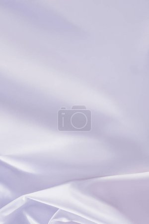 white shiny silk fabric background