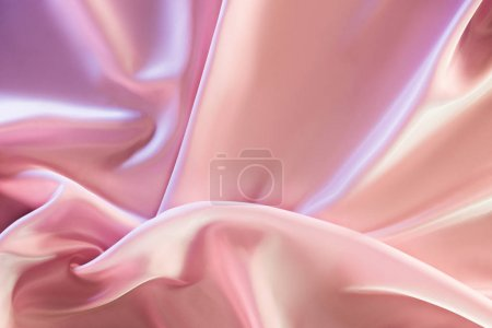 beige and pink decorative silk fabric background