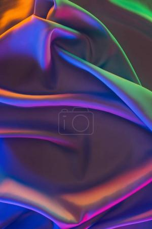 colored shiny satin fabric background