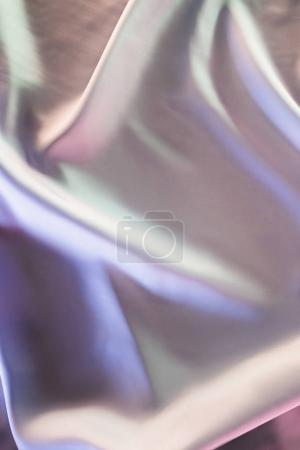 Photo for Light colored shiny silk fabric background - Royalty Free Image