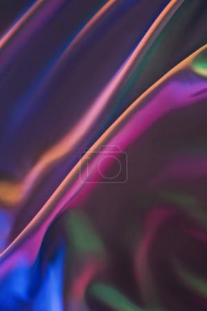 pink and violet shiny silk fabric background