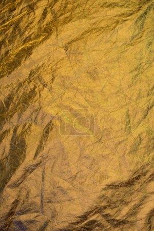 Photo for Golden shabby shiny foil background - Royalty Free Image