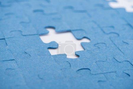Photo pour Placez pour puzzles manquants, concept d'entreprise - image libre de droit