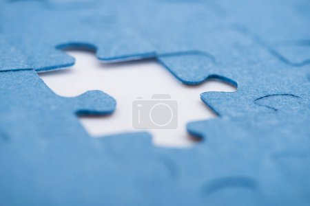 place for one missing puzzle, business concept