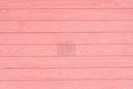 Photo pour Fond de planches de clôture en bois peint en rose - image libre de droit