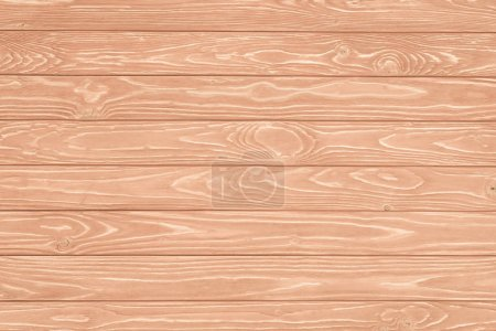 Carpentry template with peach wooden planks