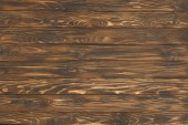 Wooden planks painted in brown background