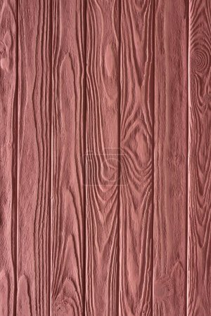 Carpentry template with pink wooden planks
