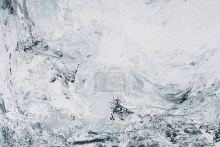 Abstract background with grey oil painting