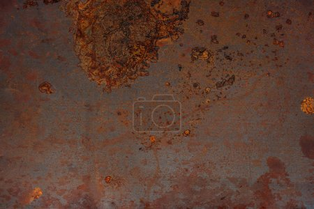 Photo for Dirty and rusted metal surface texture - Royalty Free Image