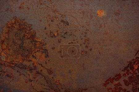 Photo for Rusted metal texture for industrial background - Royalty Free Image