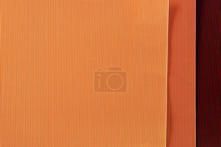 Photo for Top view of arranged colorful paper sheets background - Royalty Free Image