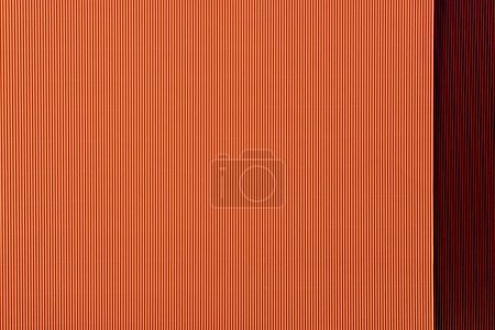 top view of arranged colorful paper sheets background