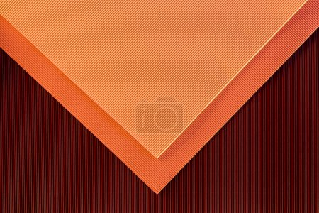 top view of arrangement of colorful paper sheets backdrop