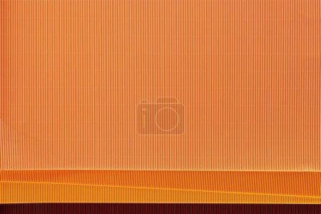 Foto de Vista superior de hojas coloridas dispuestas de telón de fondo de papel - Imagen libre de derechos