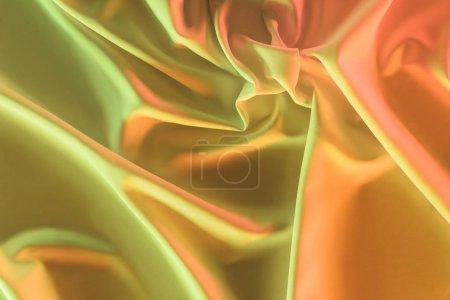 Photo pour Tonique d'image de fond de tissu de soie plissée - image libre de droit