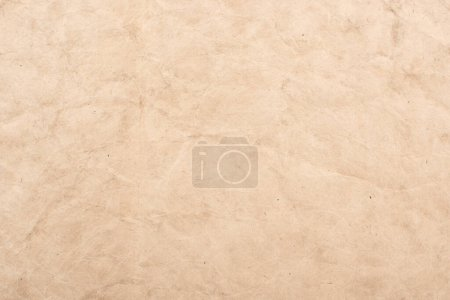 Photo for Top view of vintage blank aged paper texture - Royalty Free Image
