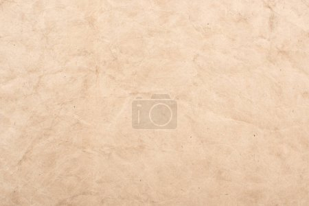 Photo pour Vue du dessus de la texture vintage vierge de papier vieilli - image libre de droit