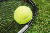 Tennis racquet and ball 3