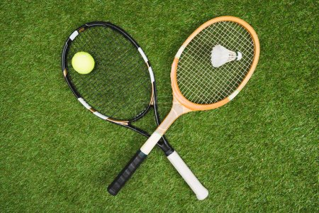 Tennis and badminton equipment