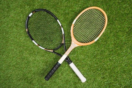 tennis and badminton rackets