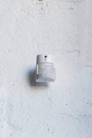 white motion sensor