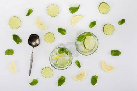 homemade refreshing lemonades
