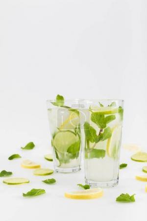 Refreshing citrus lemonades