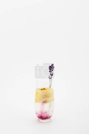 limonade maison à la lavande