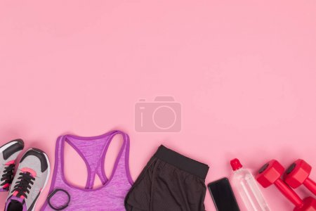 Sportswear and fitness equipment