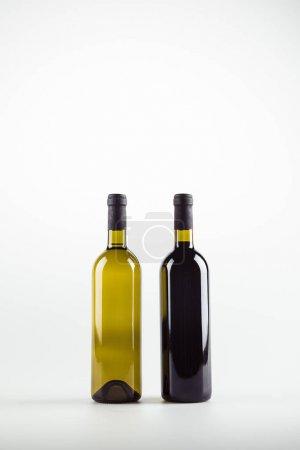 wine bottles full of wine