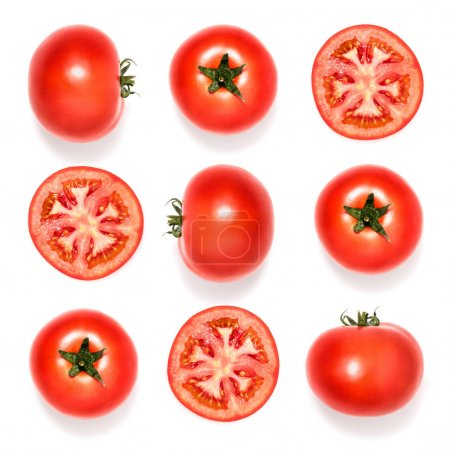 Composition of fresh tomatoes