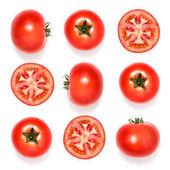 """Постер, картина, фотообои """"Композиция свежих помидоров"""""""