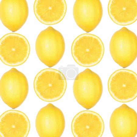 patters made of fresh lemons