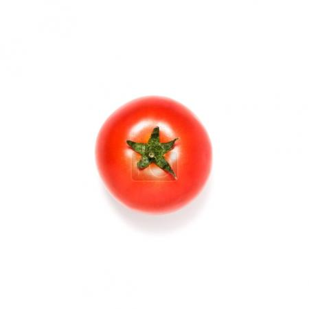 Photo for Fresh ripe tomato isolated on white - Royalty Free Image