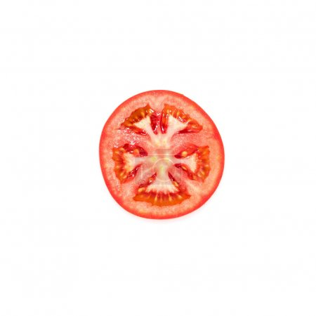 slice of fresh tomato