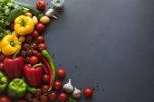 fresh ripe vegetables