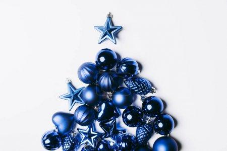 Christmas tree made of toys
