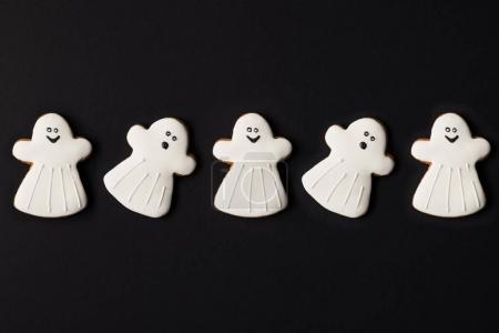 Halloween-Geisterkekse
