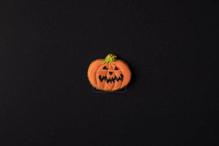 halloween pumpkin cookie