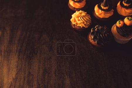 homemade halloween cupcakes