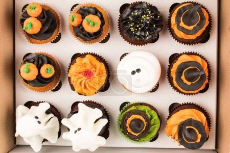 decorative halloween cupcakes