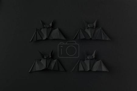 halloween origami bats