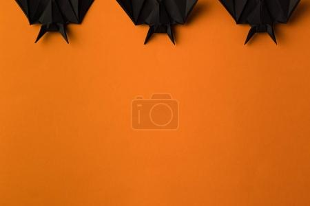 Halloween bats with copy space