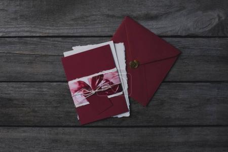 Composition of holiday invitations