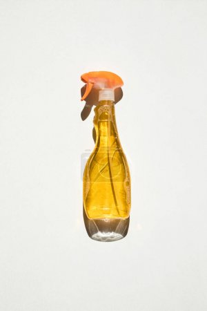 spray bottle with cleaning fluid