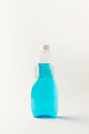 Bottle of cleaning fluid